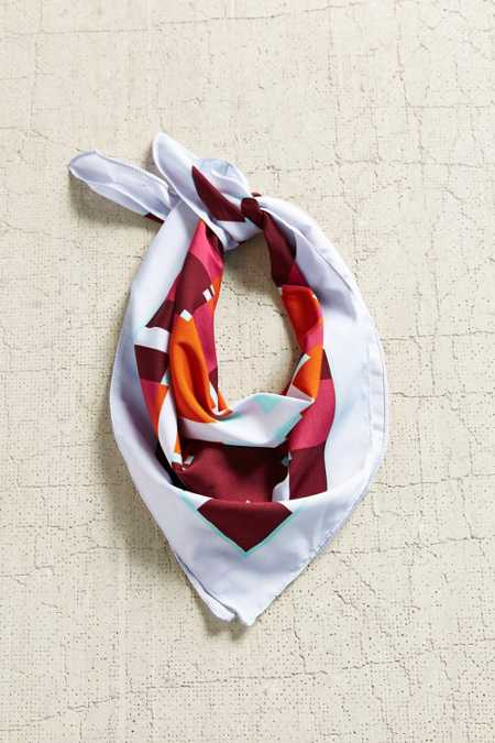 Silky Square Scarf