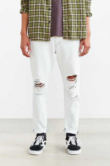 Neuw Hardcore Bleach Destructed Studio Relaxed Jean