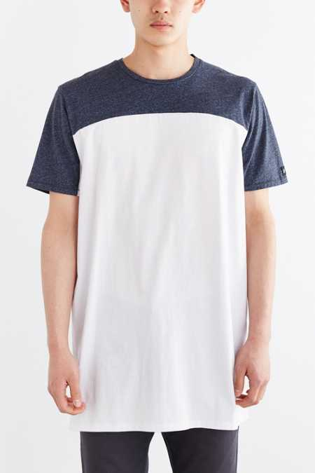 ZANEROBE Tall Pieced Top Tee