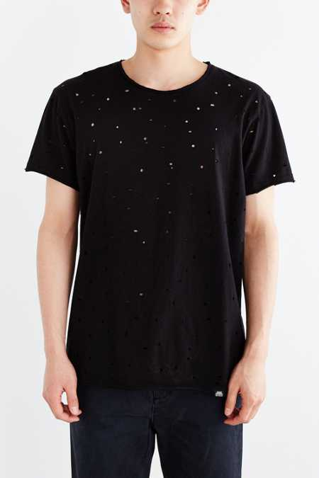 Cheap Monday Trashed + Destroyed Crew Neck Tee