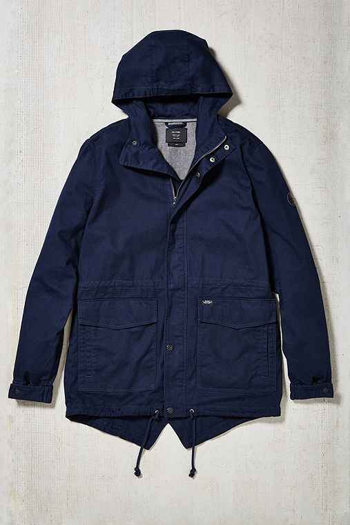 Globe Goodstock Fishtail Parka Jacket,NAVY,M