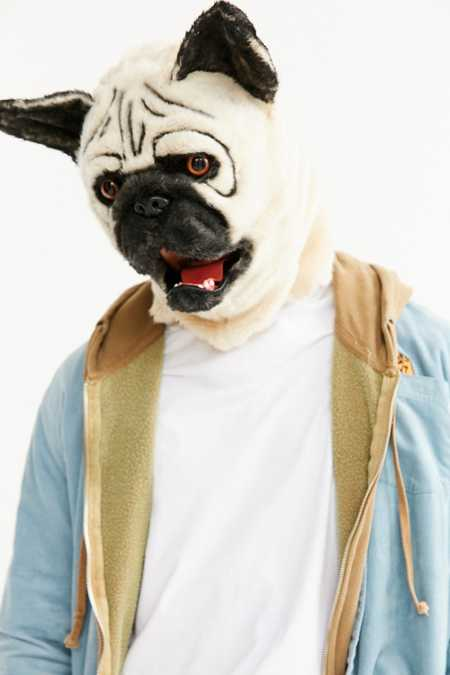 Talking Pug Mask