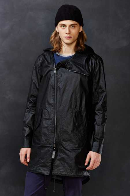 Kill City Asymmetrical Zip Parka Jacket