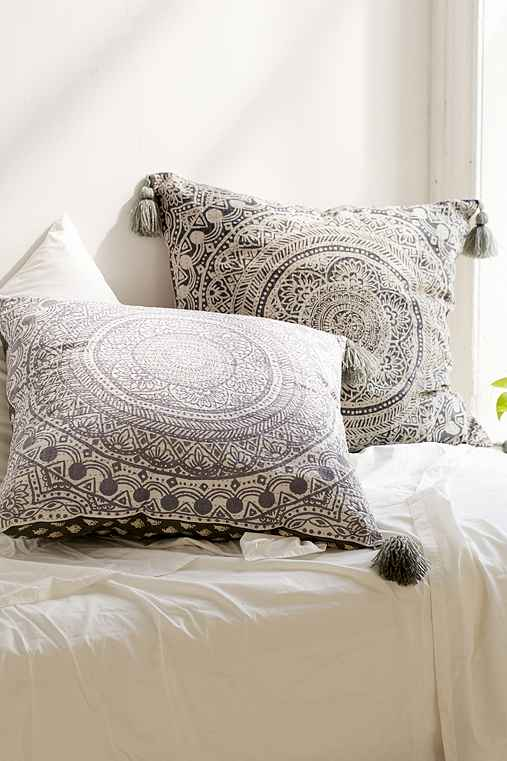 Oversized Decorative Pillows For Bed : Plum & Bow Raya Oversized Pillow - Urban Outfitters