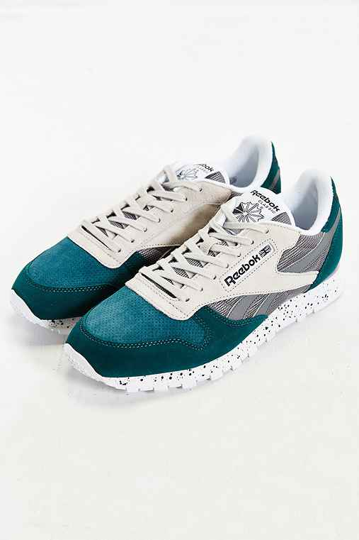 Reebok Classic Suede SM Running Sneaker,TURQUOISE,11