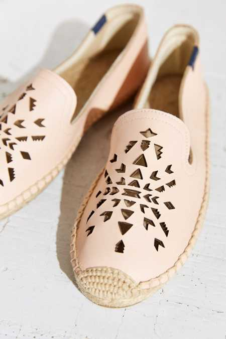 Soludos Leather Dream Catcher Espadrille Loafer