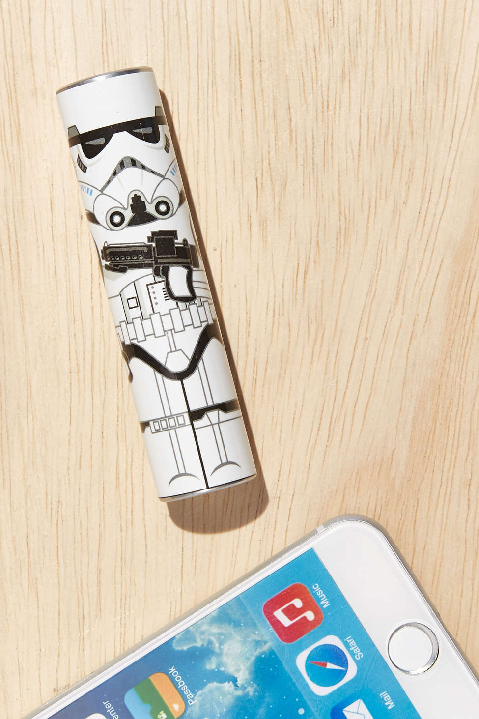 Super useful gift - a Star Wars back-up battery