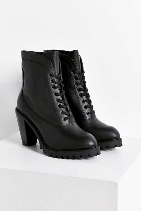 Kelsi Dagger Brooklyn Berlin Lace-Up Heeled Boot