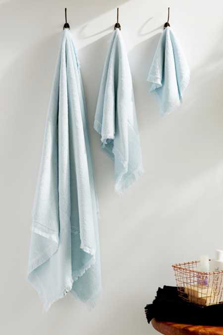 4040 Locust Frayed Edge Towel Set