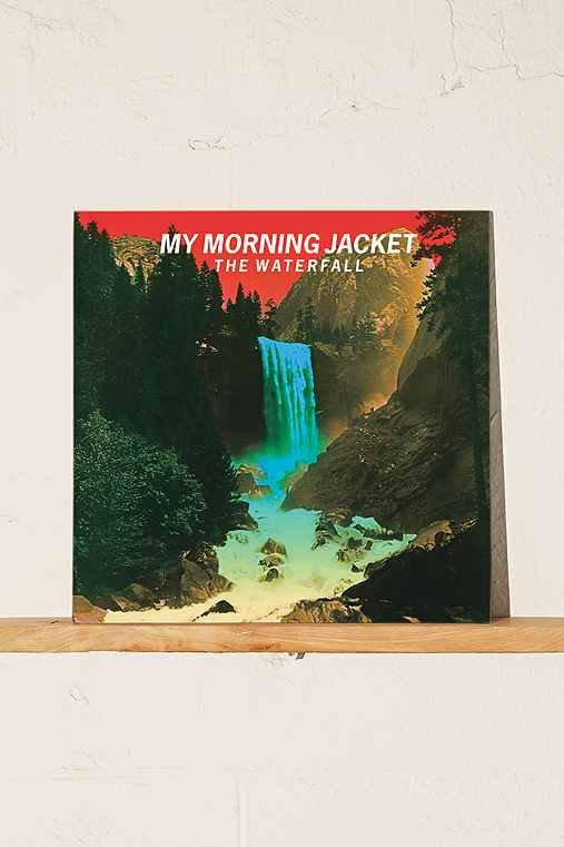 The Waterfall - My Morning Jacket LP,BLACK,ONE SIZE