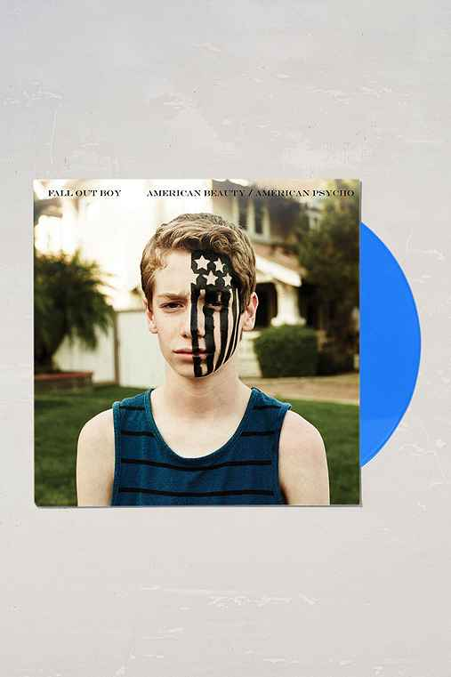 Fall Out Boy - American Beauty/American Psycho LP,BLUE,ONE SIZE