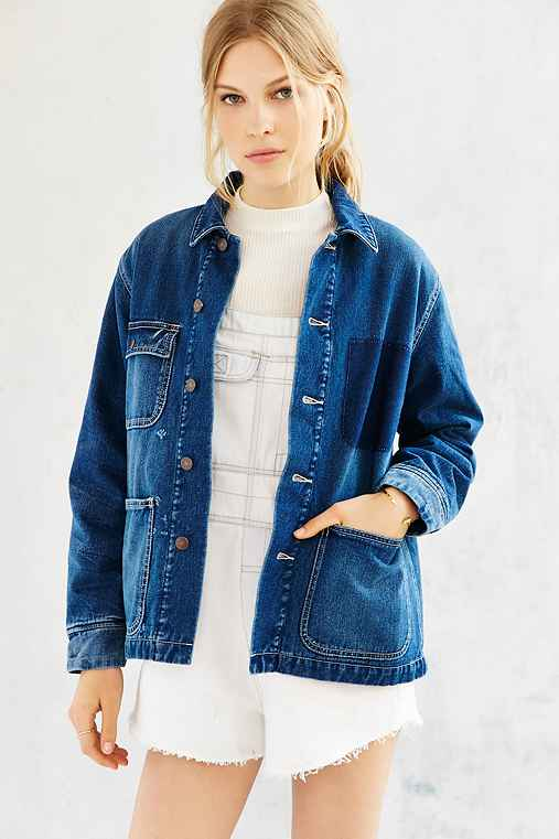 BDG Denim Workwear Jacket,INDIGO,M