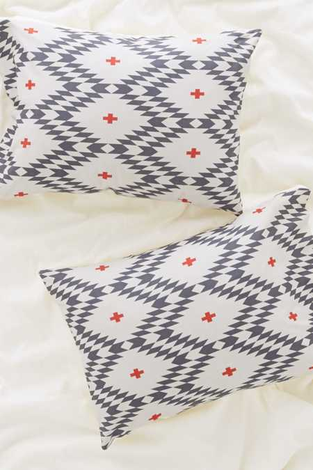 Holli Zollinger For DENY Natural Plus Pillowcase Set