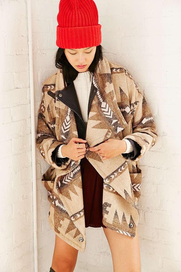 Sale alerts for  Capulet Geometric Wrap Jacket - Covvet
