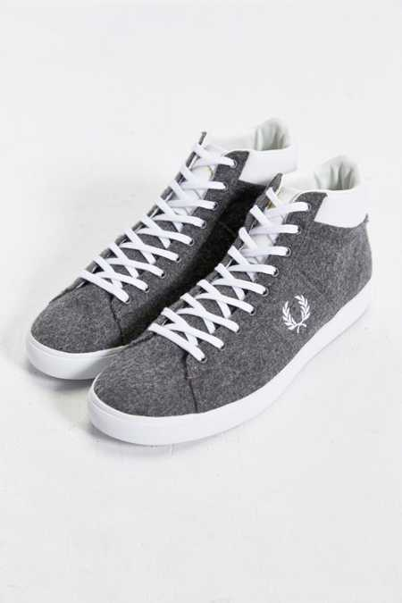 Fred Perry Spencer Wool Mid-Top Sneaker