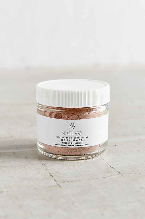 NATIVO Clay Scrub Mask,ASSORTED,ONE SIZE