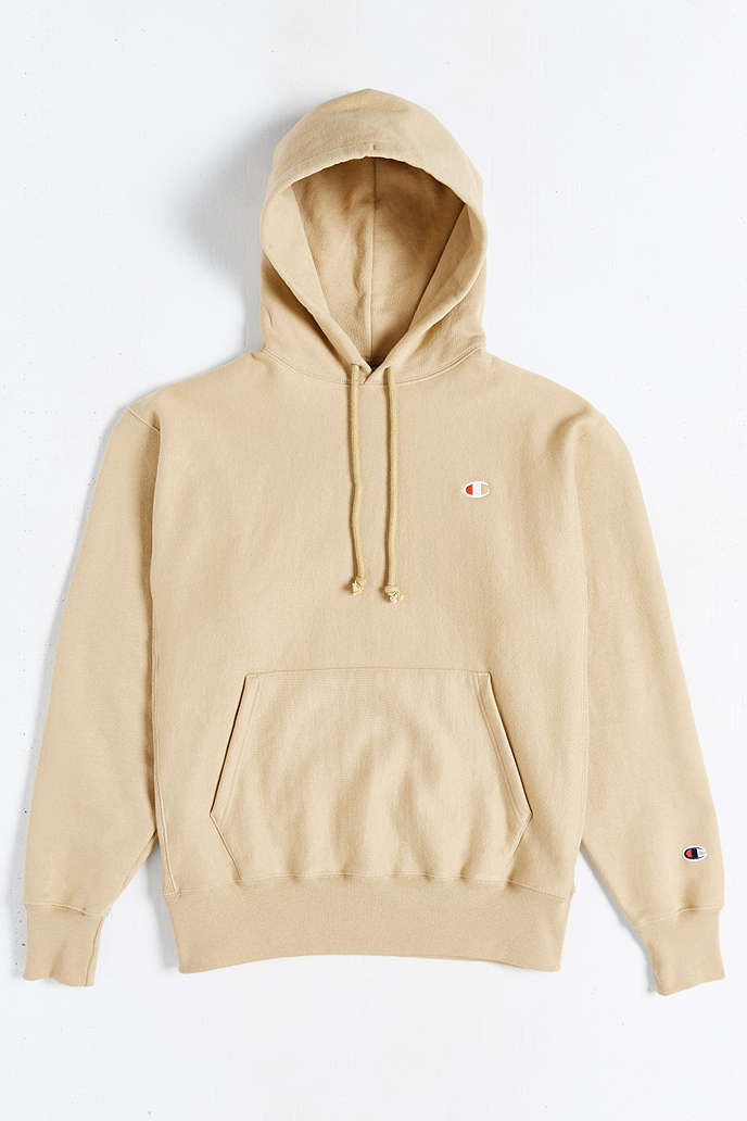 Tan Champion Hoodie - Trendy Clothes