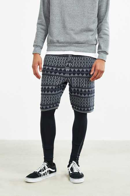 Koto Pattern Sweater Short