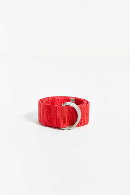 Stussy Stock Woven D-Ring Belt