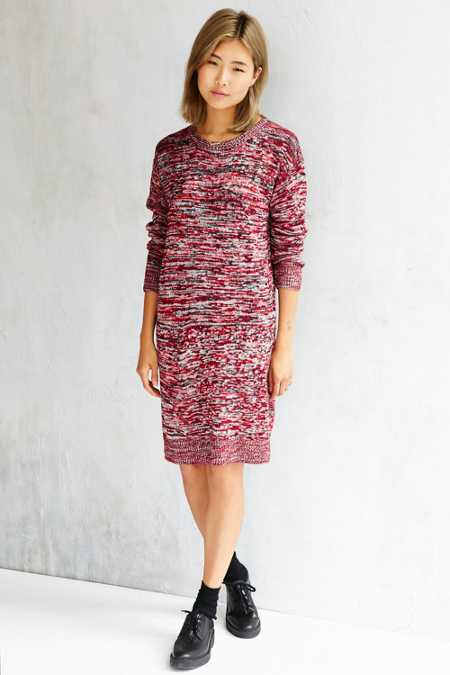 BDG Spacedye Sweater Dress