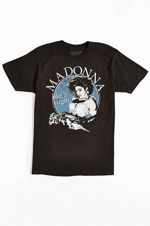 Madonna Virgin Tour Tee,WASHED BLACK,S