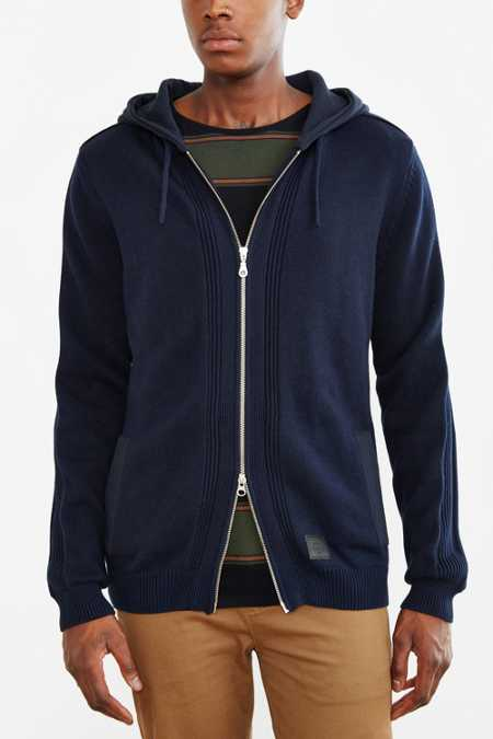 Globe Stanley Hooded Zip-Up Sweater