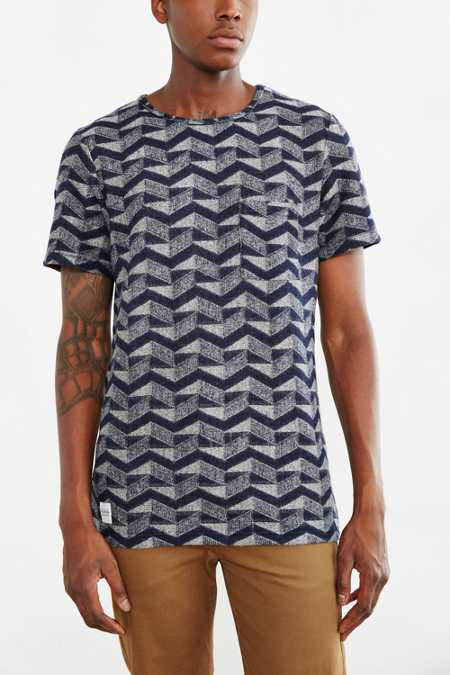 Native Youth Zigzag Textured Tee