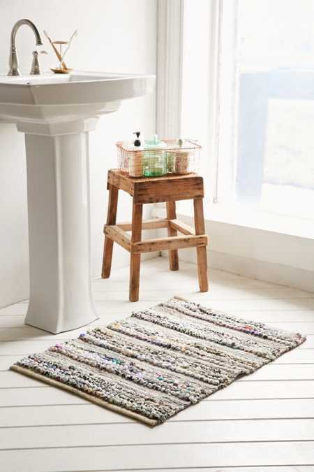 Magical Thinking Loop Stripe Rag Rug