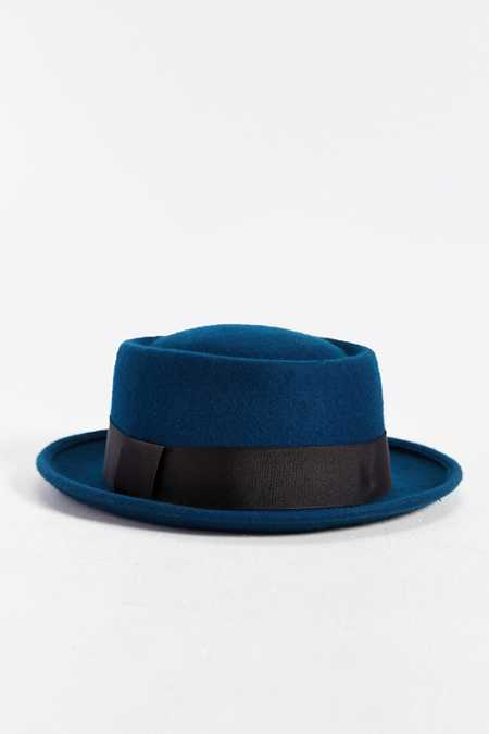 Rosin Felted Pork Pie Hat