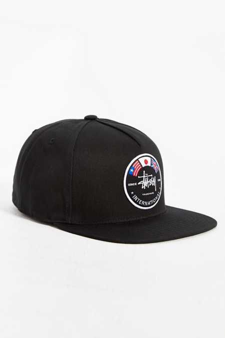 Stussy International Flags Snapback Hat