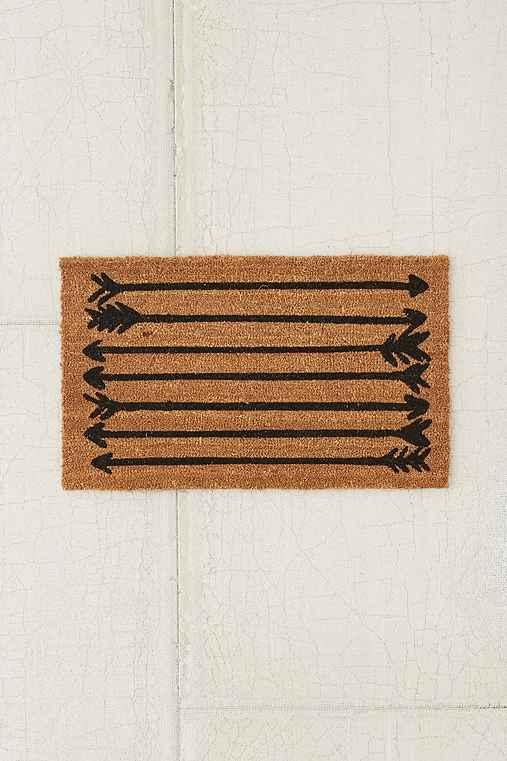 4040 Locust Arrows Doormat,BLACK,2X3