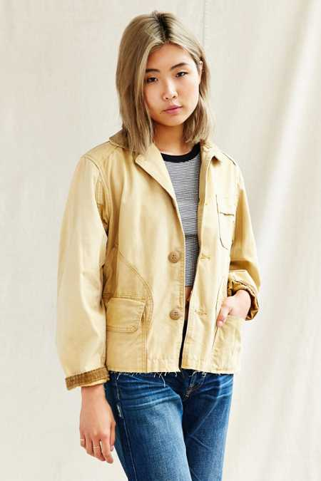 Urban Renewal Recycled Cropped Barn Jacket