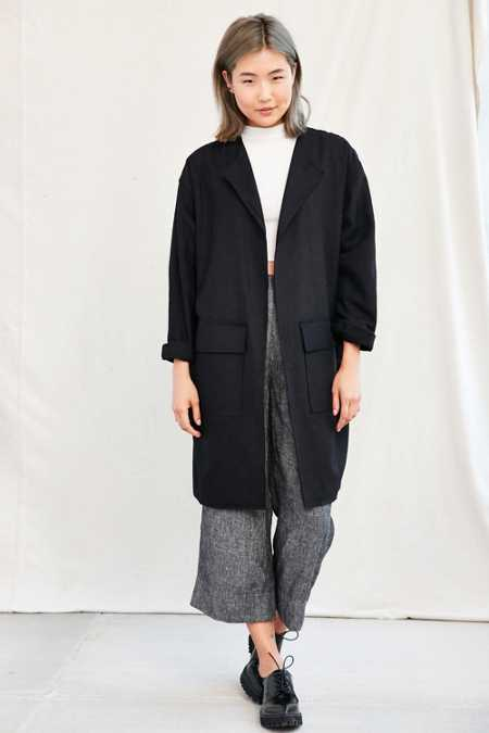 Urban Renewal Recycled Cocoon Coat