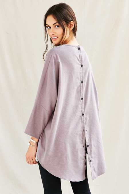 Urban Renewal Remade Button My Back Tunic Top