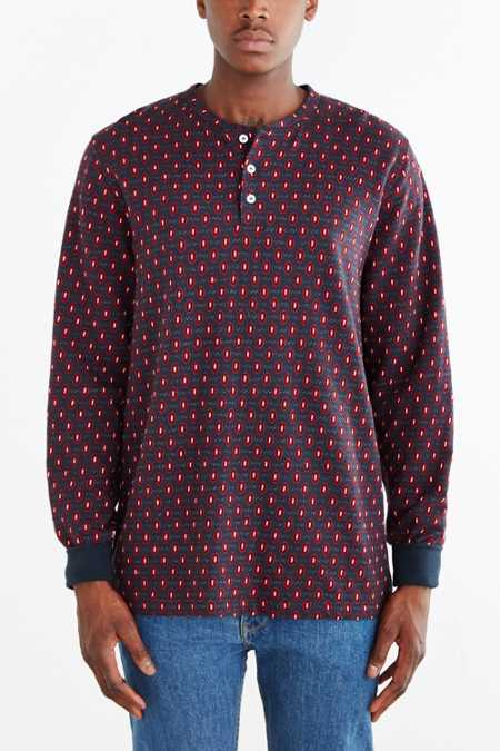 Stussy Third Eye Long-Sleeve Henley Tee