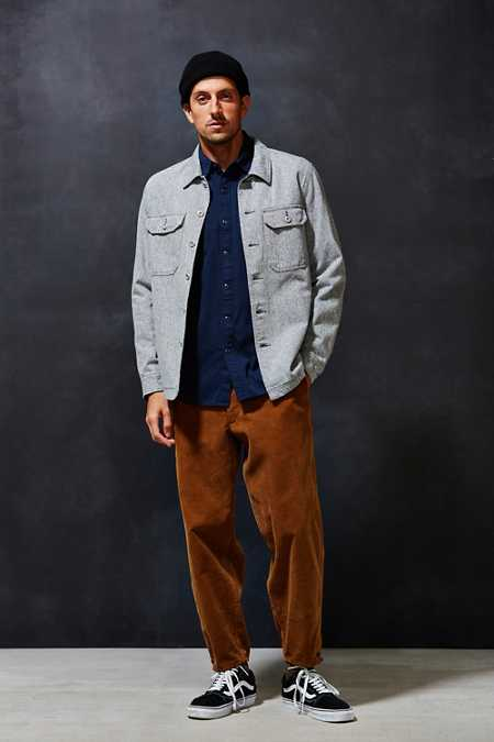 All-Son Twill Shirt Jacket
