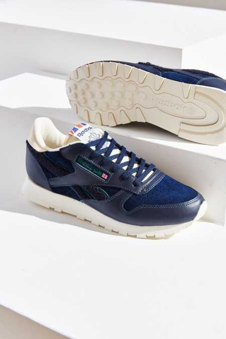 Reebok X UO Classic Leather Clean Ivy Sneaker