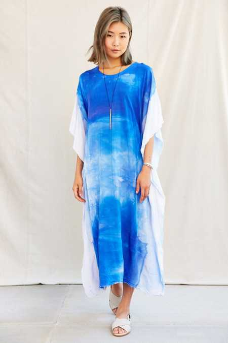 Riverside Tool & Dye Caftan Dress