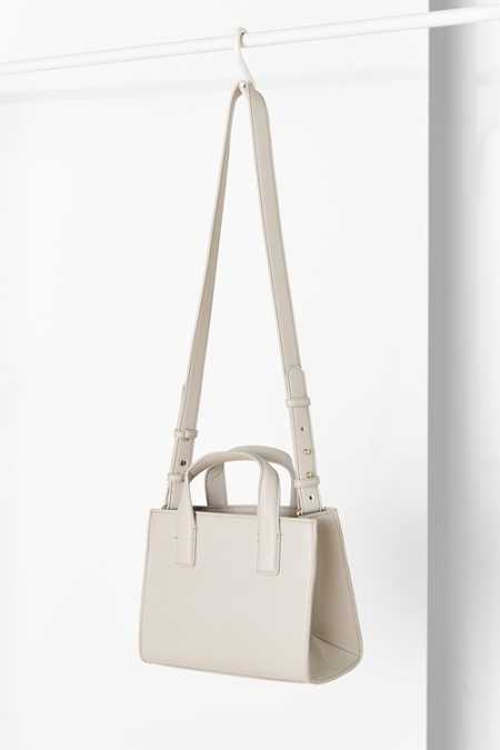 Cooperative Structured Mini Tote Bag