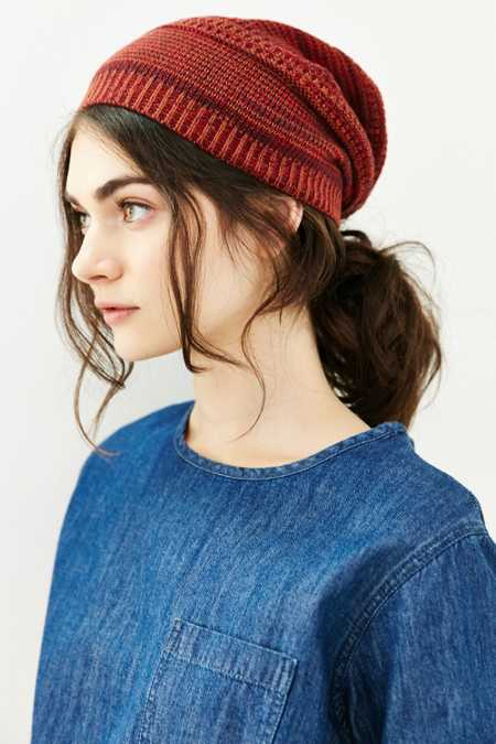 BDG Mix-Stitch Lightweight Beanie
