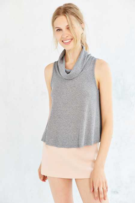 Cooperative Swing Into Me Cowl Neck Tank Top