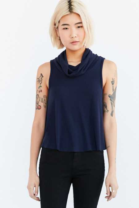 Cooperative Swing Into Me Turtleneck Tank Top