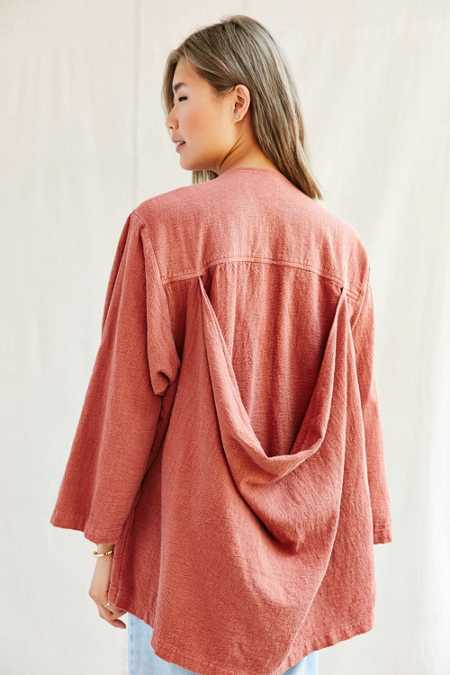 Urban Renewal Recycled Drape Back Jacket