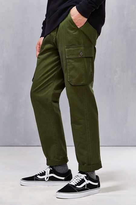 All-Son Stonewashed Slim Cargo Pant