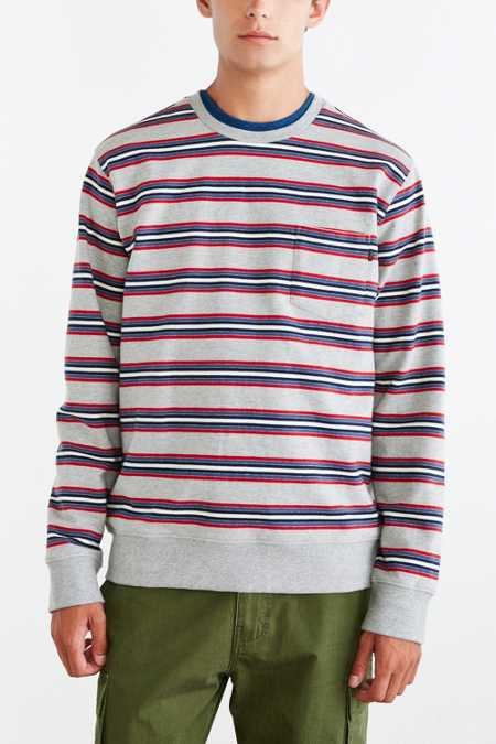 OBEY Bertram Stripe Sweatshirt