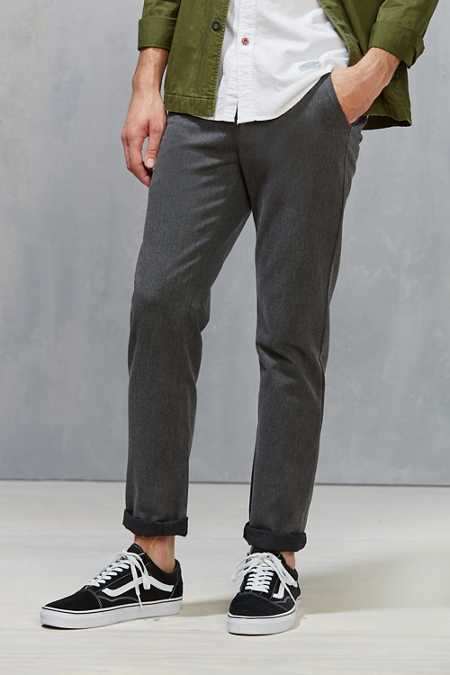 CPO Double Faced Melange Skinny Chino Pant