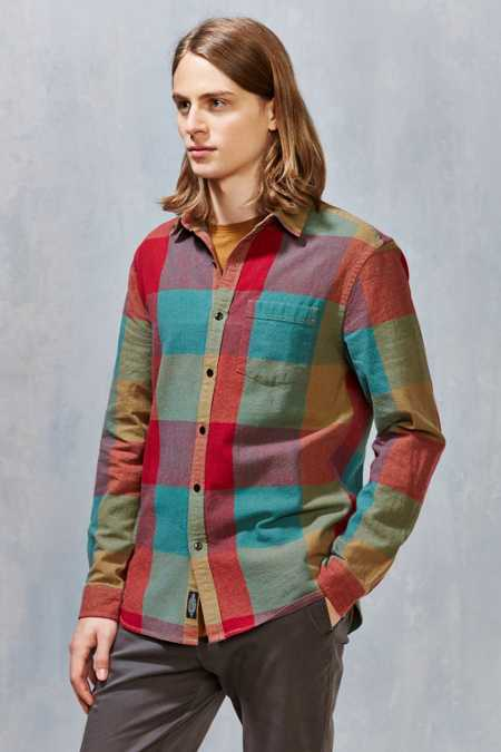 CPO Exploded Plaid Button-Down Shirt
