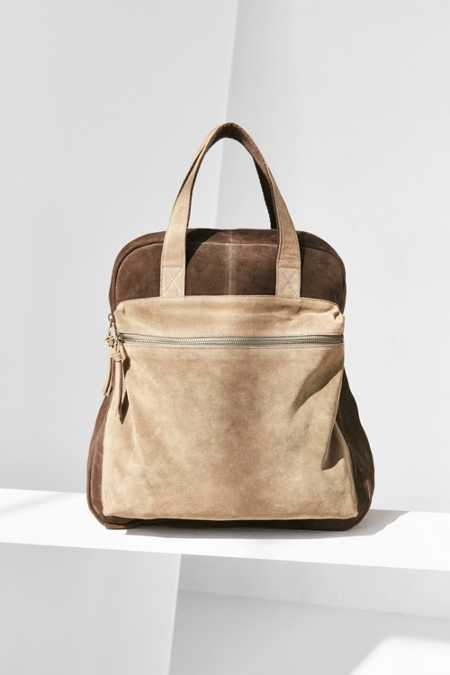 BDG Suede Pocket Backpack