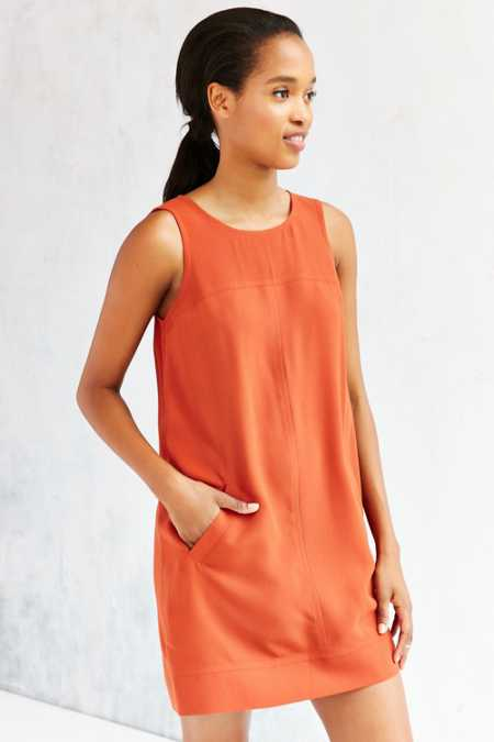 Cooperative Seamed Shift Dress