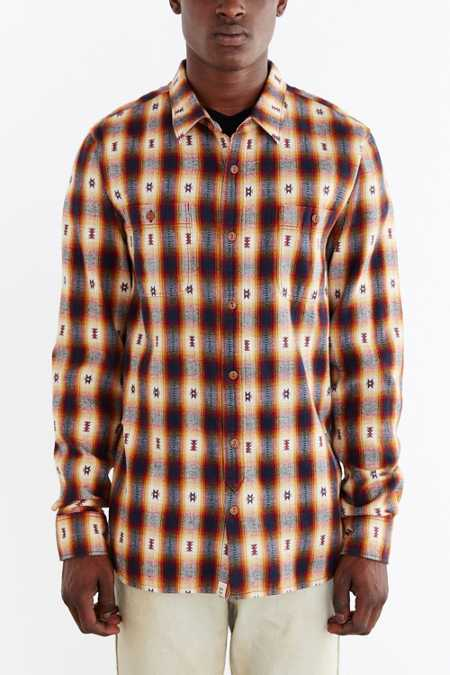 Vans Huffman Flannel Button-Down Shirt
